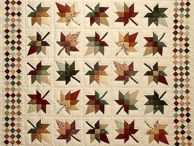 King Autumn Splendor in Commons Quilt Photo 3