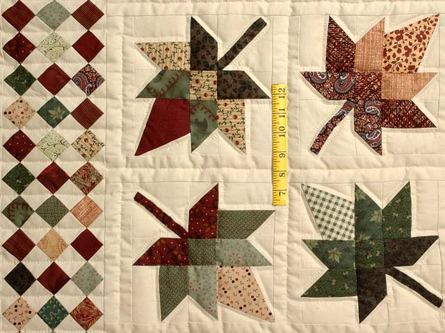 King Autumn Splendor in Commons Quilt Photo 4