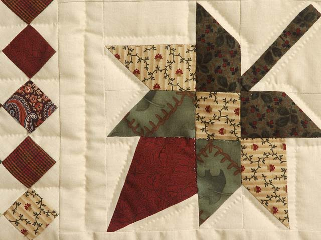 King Autumn Splendor in Commons Quilt Photo 5