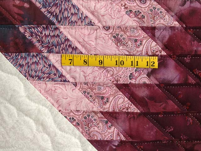 Plum and Lavender Royal Star of Maryland Quilt Photo 5
