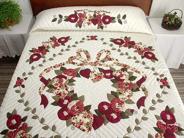 Brick And Sage Country Love Quilt