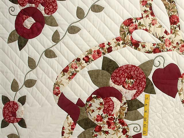 Brick and Sage Country Love Quilt Photo 4