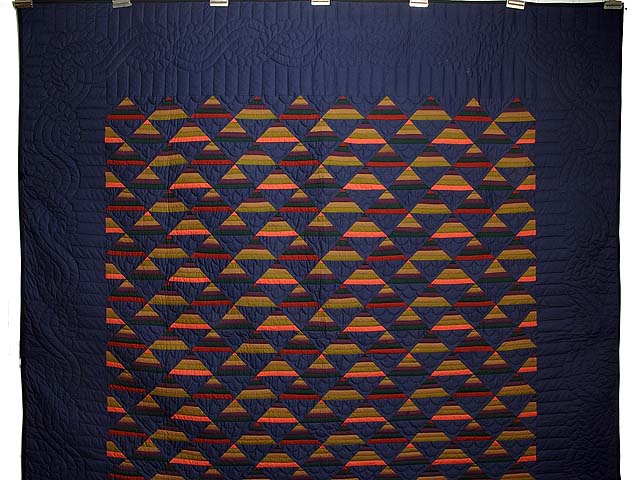 Amish Antique Colors Shadows Quilt Photo 2