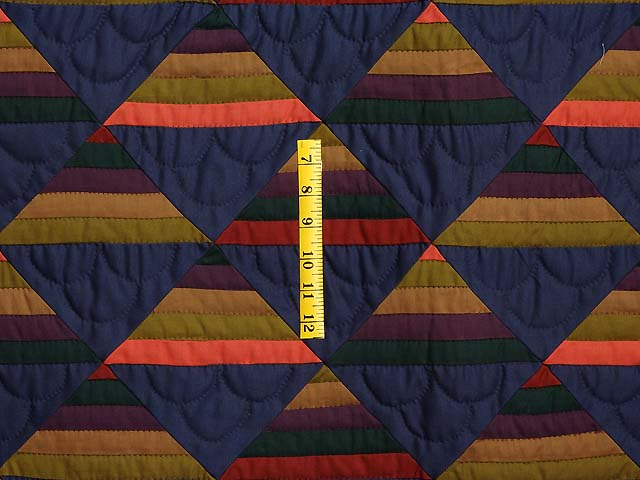 Amish Antique Colors Shadows Quilt Photo 4