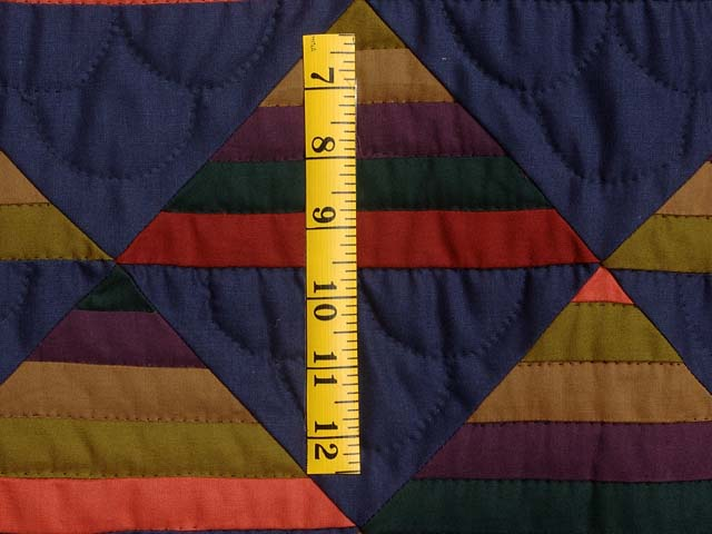 Amish Antique Colors Shadows Quilt Photo 5