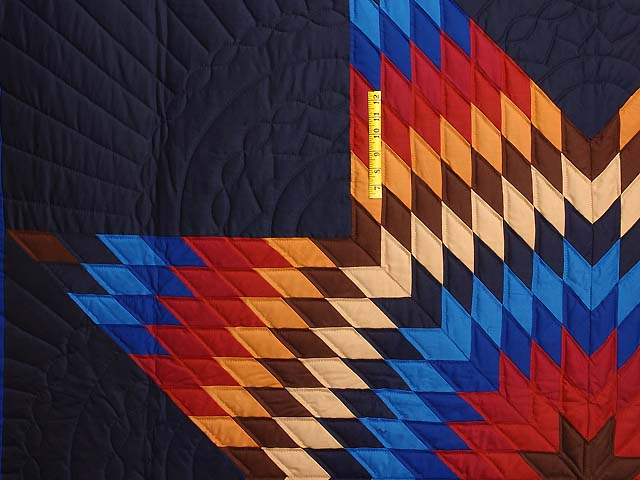 Amish Radiant Lone Star Quilt Photo 4