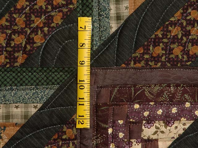Plum and Green Somerset Quilt Photo 5