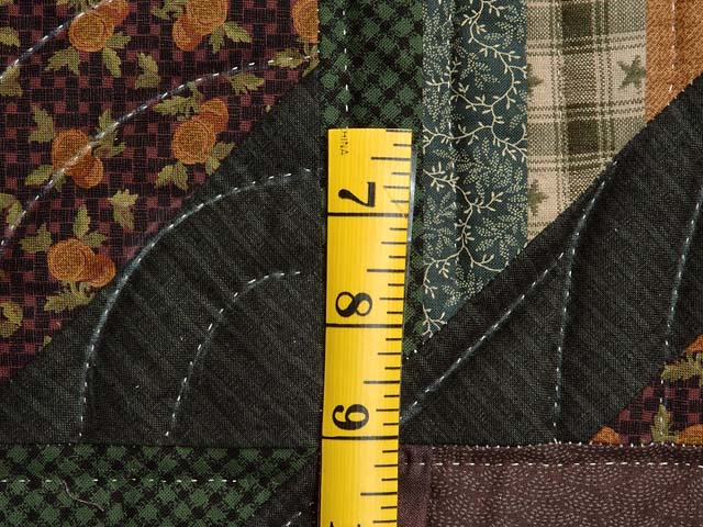 Plum and Green Somerset Quilt Photo 6
