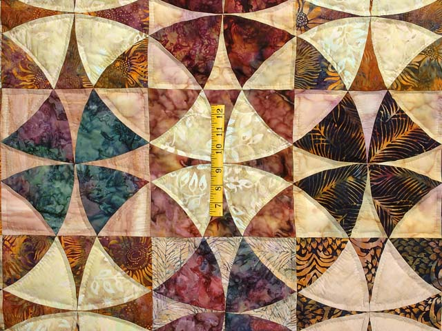 Hand Painted Winding Ways Quilt Photo 4