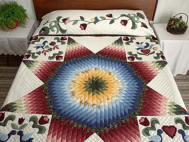 Pennsylvania Dutch Star Quilt Photo 1