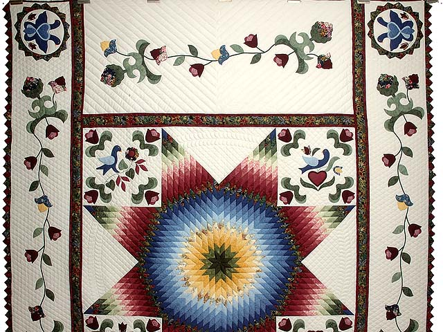 Pennsylvania Dutch Star Quilt Photo 2