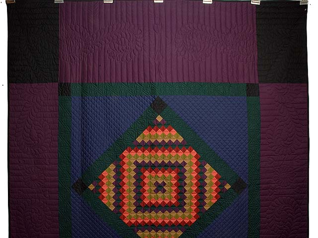 Amish Sunshine Diamond Quilt Photo 2