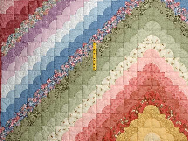 Pastel Ocean Wave Quilt Photo 4