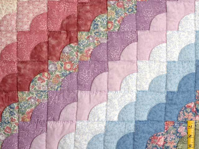 Pastel Ocean Wave Quilt Photo 5