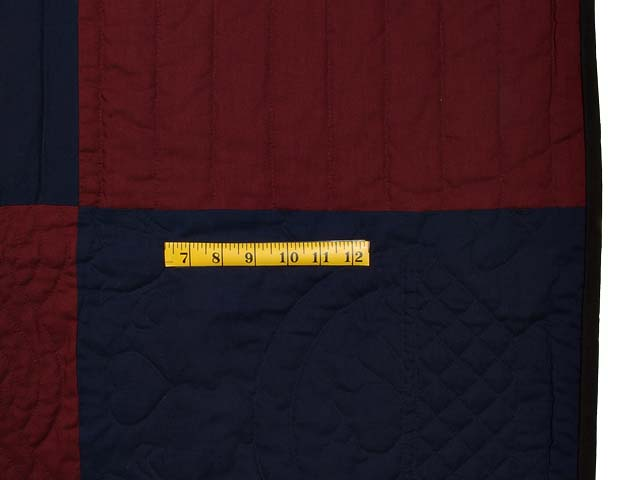 Full Size Amish Bars Quilt Photo 6