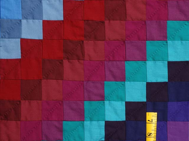 King Amish Sunshine and Shadow Quilt Photo 5