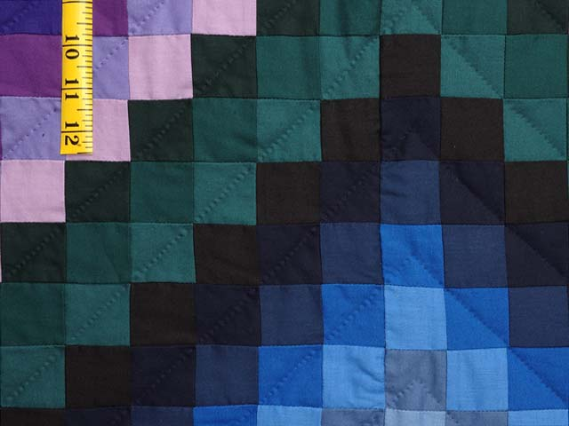 King Amish Sunshine and Shadow Quilt Photo 6