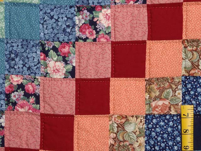 Multicolor Trip Around the World Quilt Photo 5