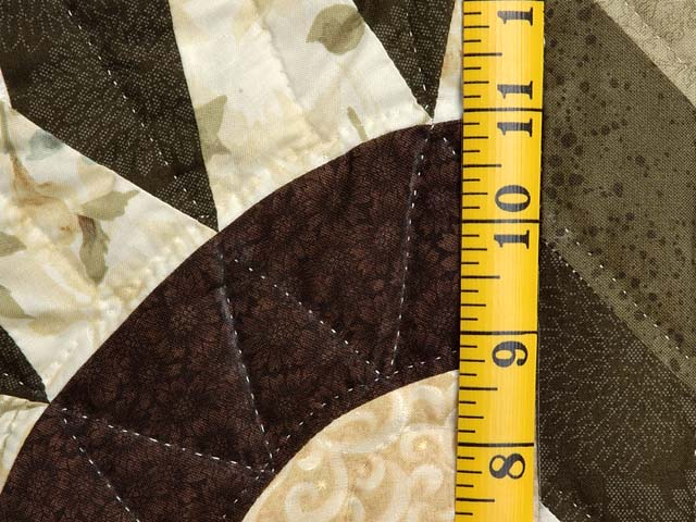 Sage Golden Tan and Brown Compass Star Photo 6