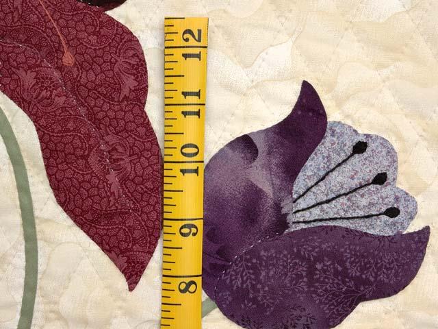 Plum Tones on Sand Petal Showcase Quilt Photo 6
