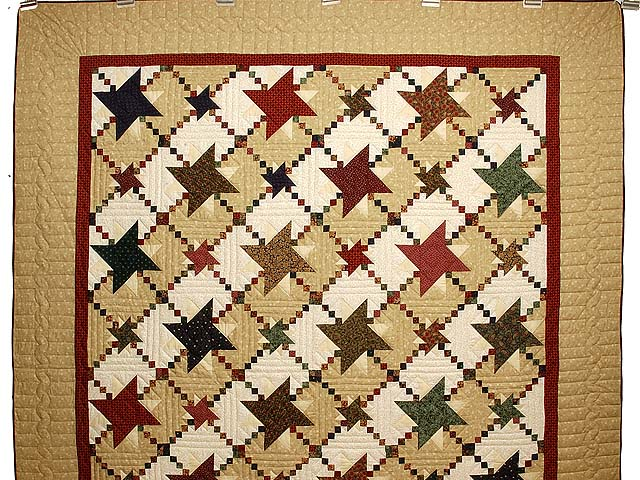 Country Colors Prairie Stars Quilt Photo 2