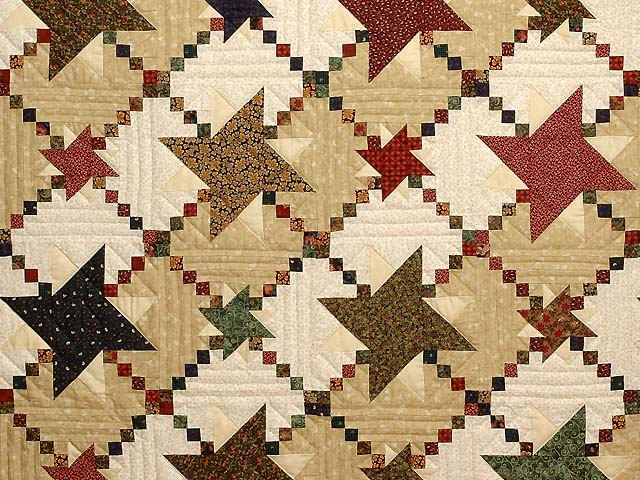 Country Colors Prairie Stars Quilt Photo 3