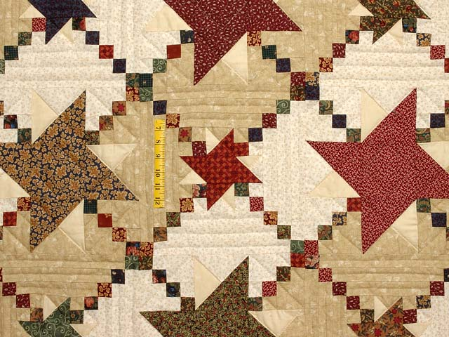 Country Colors Prairie Stars Quilt Photo 4