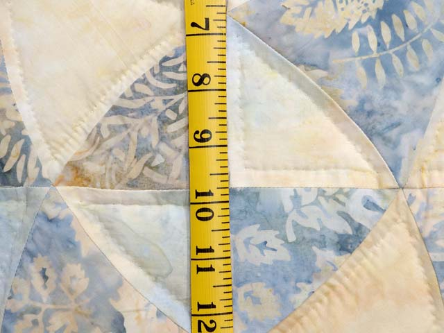 Pastel Blue and Maize Winding Ways Quilt Photo 5