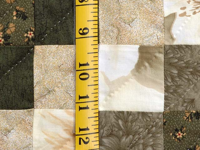 Moss Green and Beige Lone Star Trip Quilt Photo 6