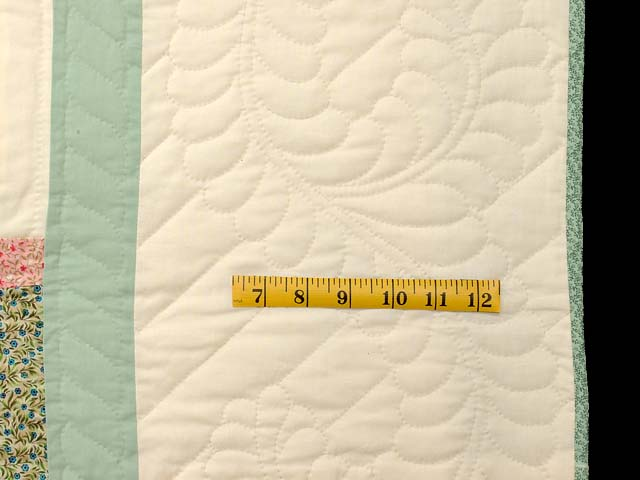 King Pastels Log Cabin Quilt Photo 7