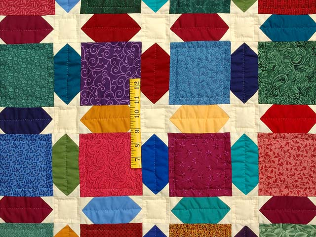 King Dark Green and Multicolor Starry Night Quilt Photo 4