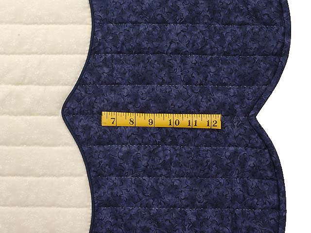 Navy Blue and Rose Spring Basket Quilt Photo 7