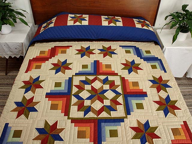 Southwest Colors Carpenter Patch Quilt Photo 1