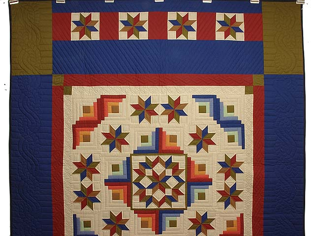 Southwest Colors Carpenter Patch Quilt Photo 2