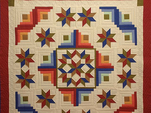 Southwest Colors Carpenter Patch Quilt Photo 3