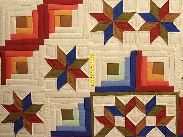 Southwest Colors Carpenter Patch Quilt Photo 4
