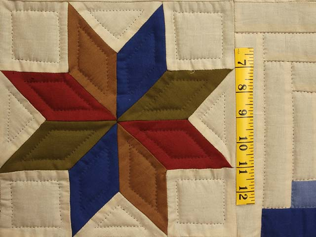 Southwest Colors Carpenter Patch Quilt Photo 5
