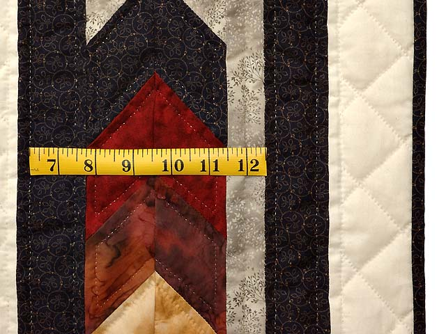 Tan Moss Gold and Multi  Flowering Star Quilt Photo 7
