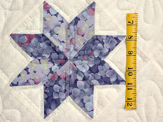 Lavender and Multi Variable Stars Quilt Photo 5