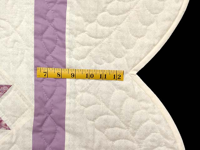 Lavender and Multi Variable Stars Quilt Photo 7