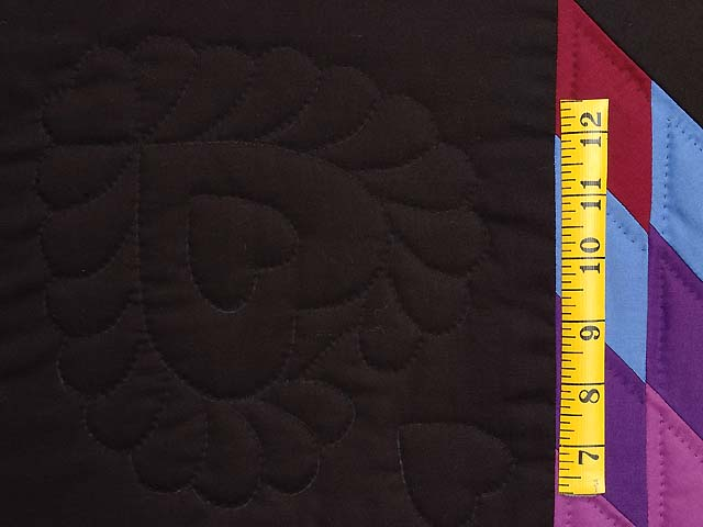 Twin Amish Lone Star Quilt Photo 5