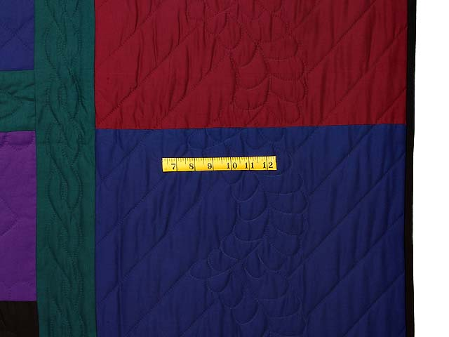 Twin Amish Lone Star Quilt Photo 6