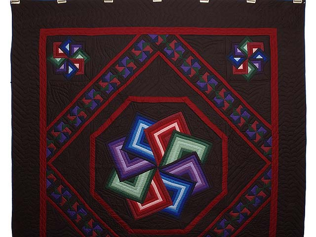 Amish Star Spin Quilt Photo 2