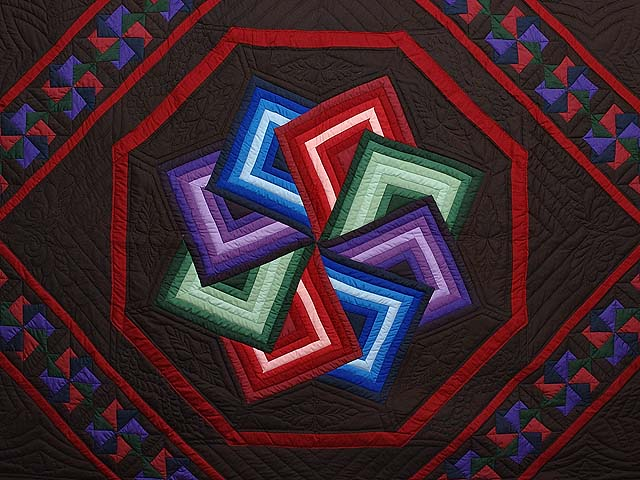 Amish Star Spin Quilt Photo 3