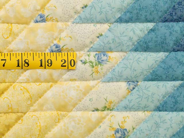 King Blue and Yellow Lone Star Country Bride Quilt Photo 6
