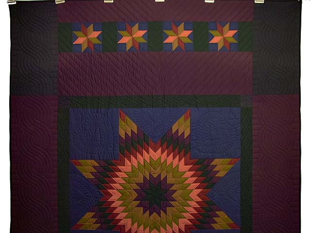 Almost Amish Lone Star Quilt Photo 2