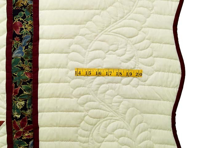 Blue Rose and Yellow Lone Star Country Bride Quilt Photo 7