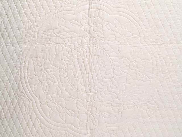 All Quilted Apple Blossom Quilt Photo 3