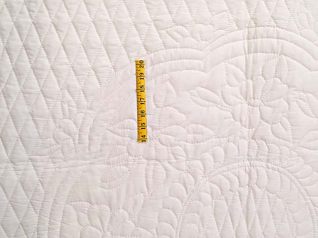 All Quilted Apple Blossom Quilt Photo 4