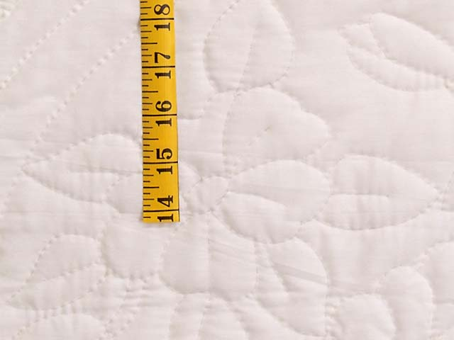 All Quilted Apple Blossom Quilt Photo 5